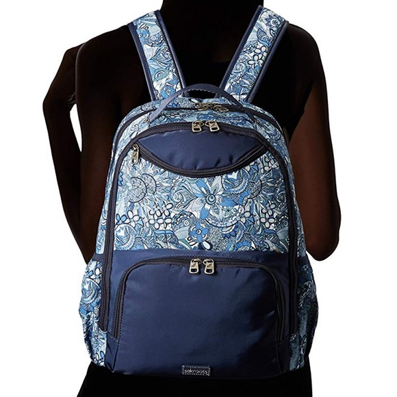 The Sak Handbags - The Sak Artist Circle blue backpack